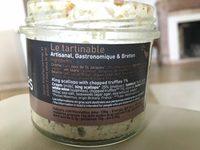 Noix de St-Jacques aux brisures de truffes - Ingrediënten