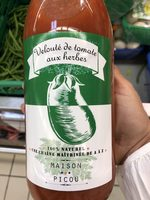 Velouté de tomate aux herbes - Produit