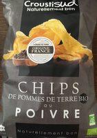 Chips de pomme de terre BIO au poivre - Product
