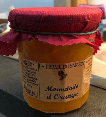 Marmelade orange - Product