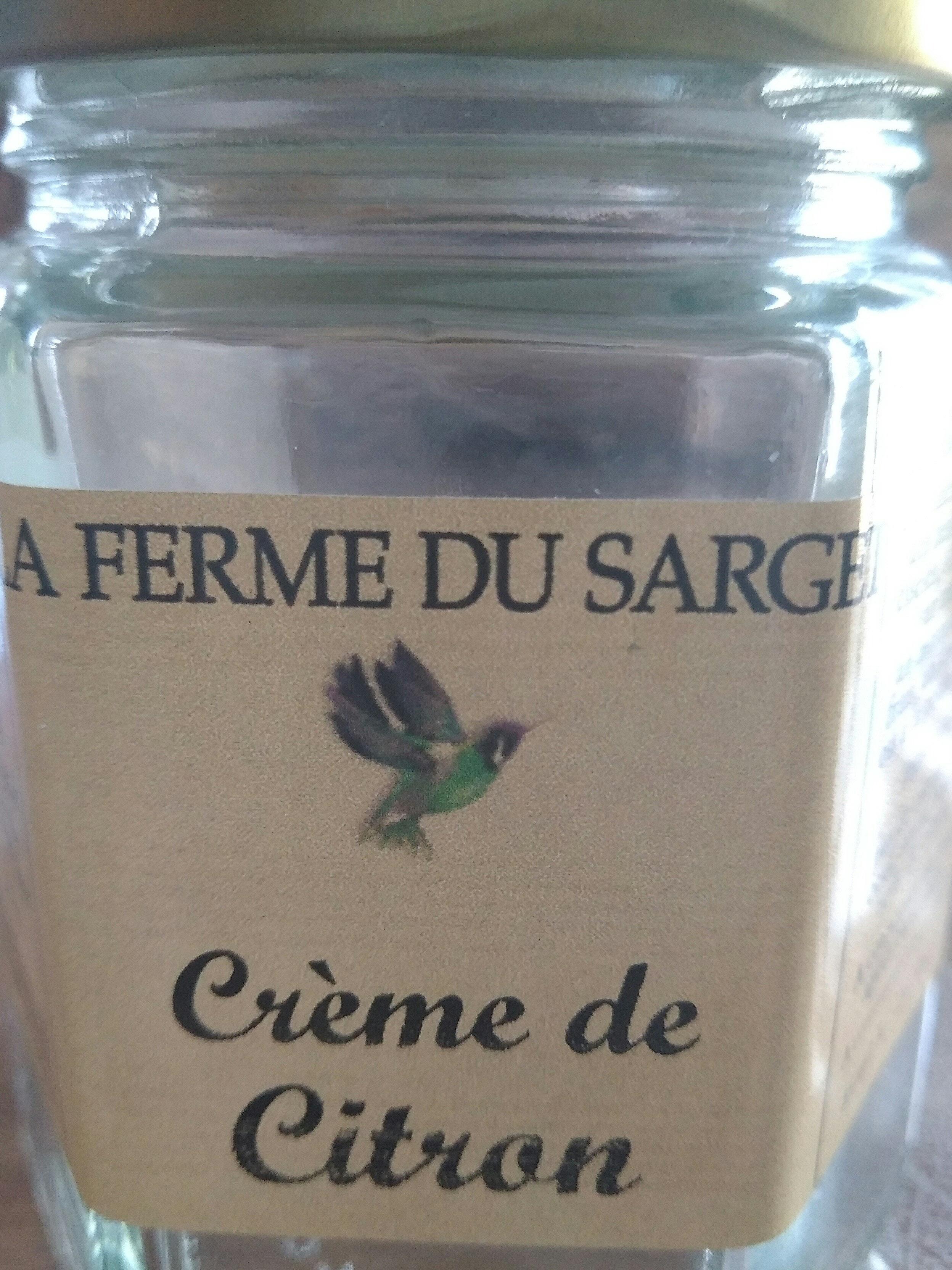 crème de citron - Produit