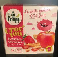 Croc'Tou Pomme Fraise - Producto