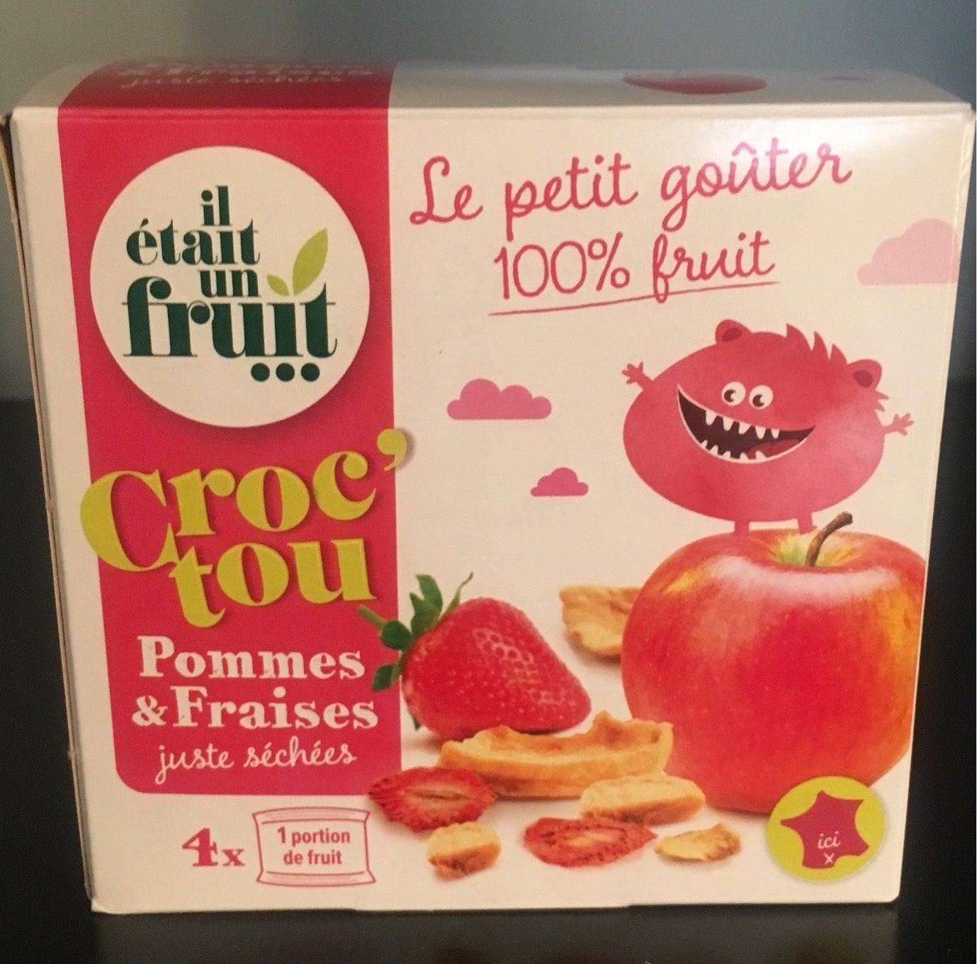 Croc'Tou Pomme Fraise - Produit