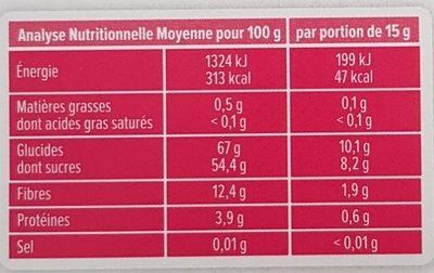Croc'Tou Pomme Fraise - Información nutricional