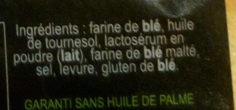 Croûtons Nature - Ingredienti - fr