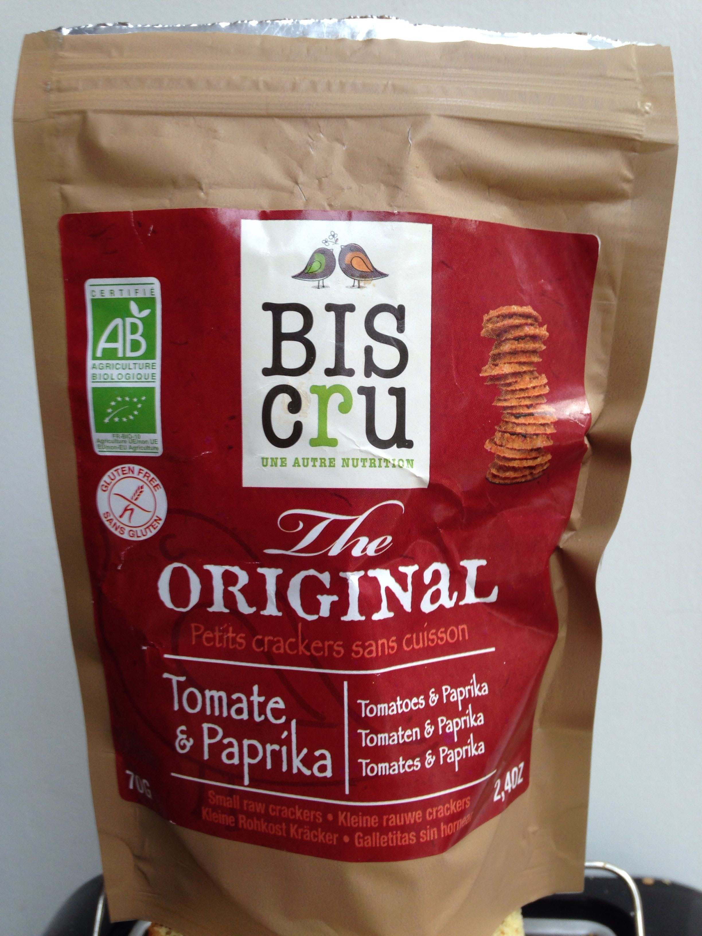 The Original petit crackers tomate & paprika - Product