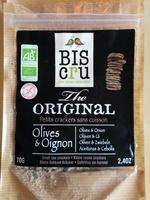 Petits crackers sans cuisson Olives & Oignon - Product