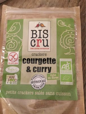 Biscuit Biscru Courgette Curry - Product