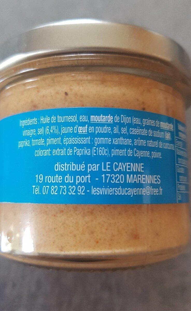 Rouille - Ingrediënten - fr