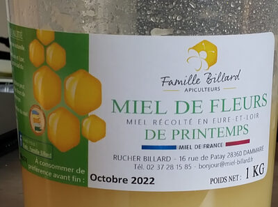 Miel de fleurs - Produit - fr