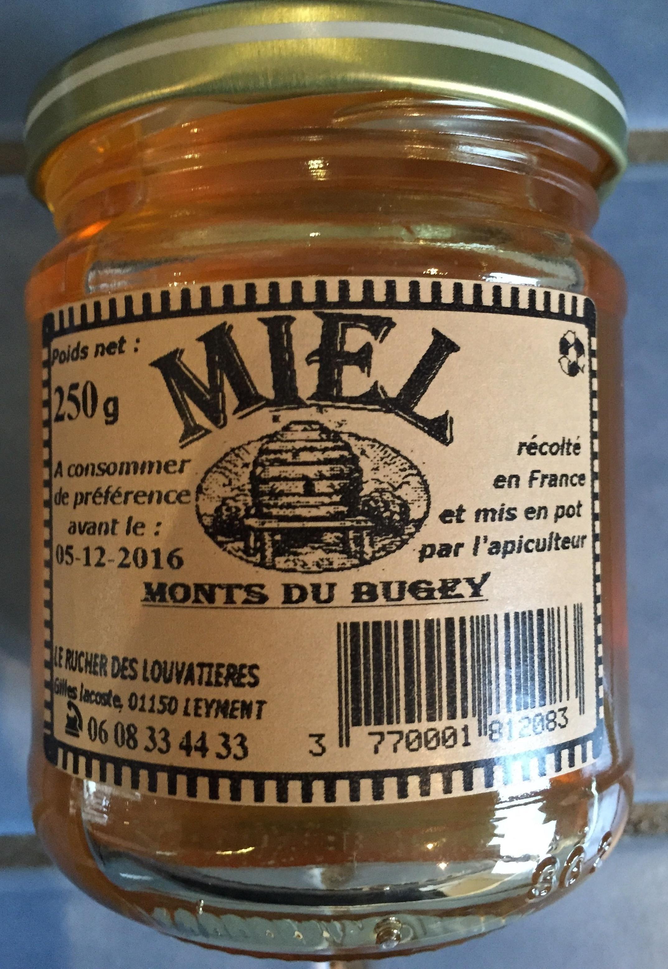 Miel des Monts du Bugey - Product - fr