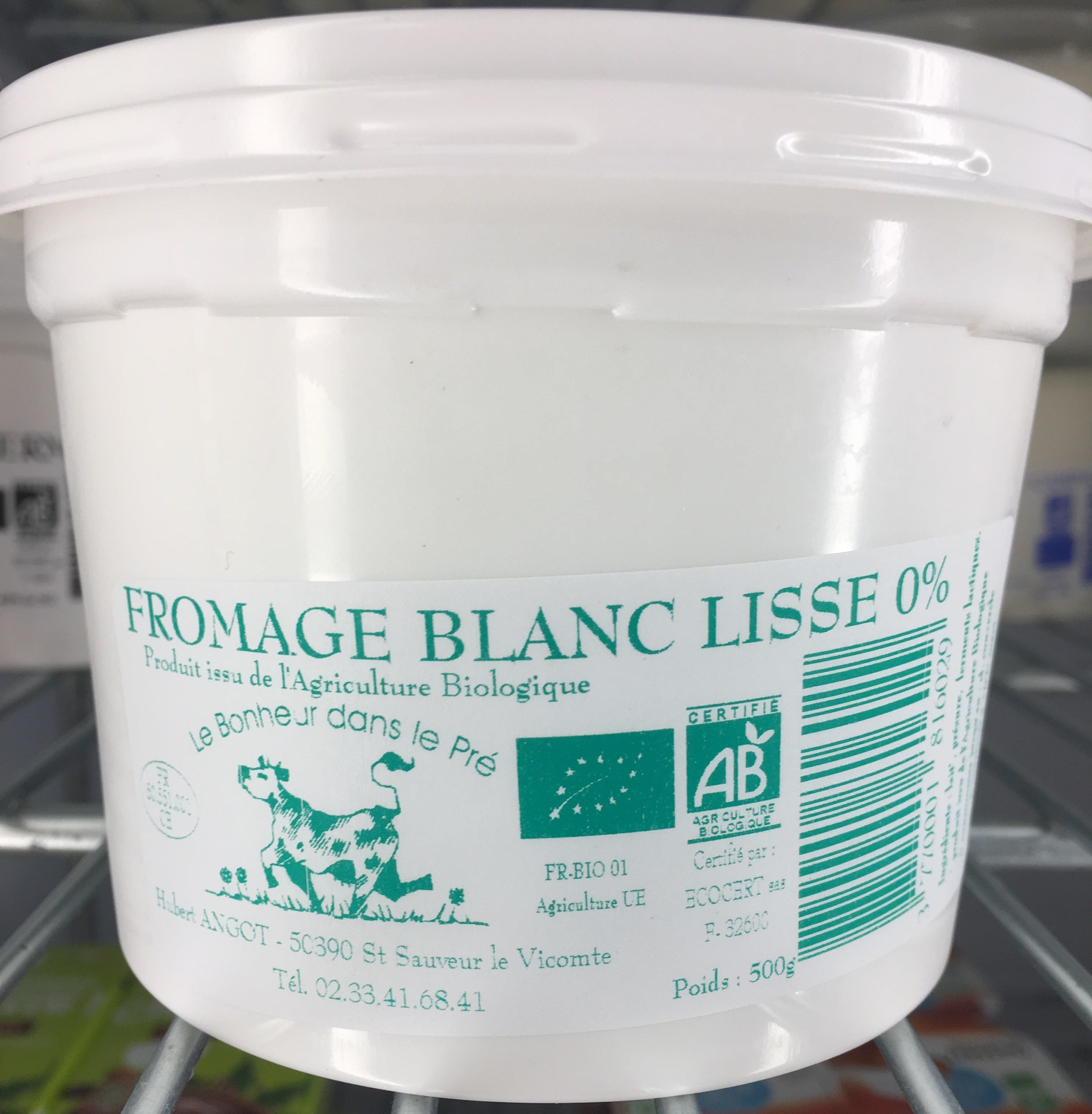 Fromage blanc lisse 0% - Product - fr