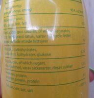 Gingembre-citron - Informations nutritionnelles - fr