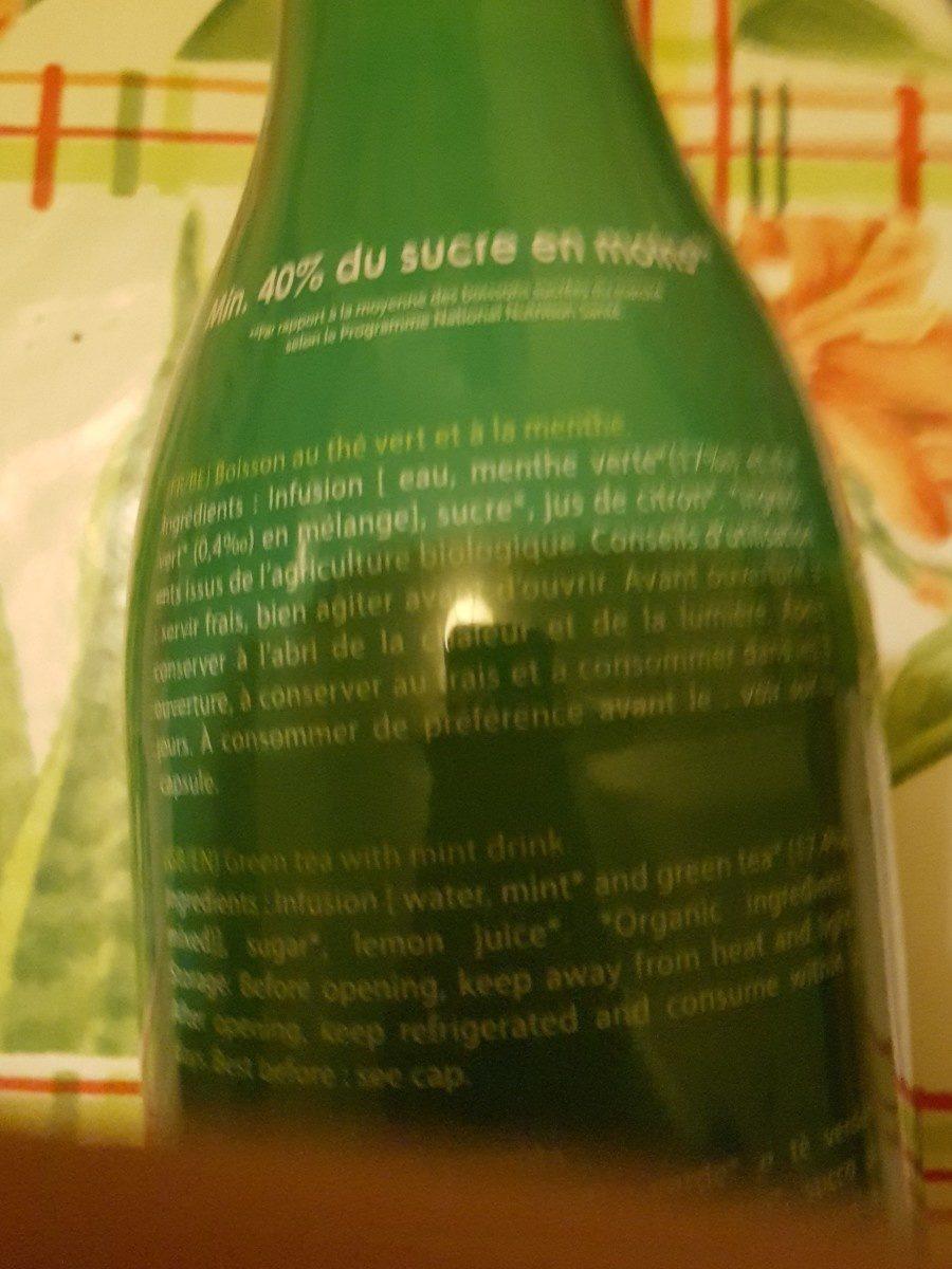 Thé vert menthe - Ingrédients - fr