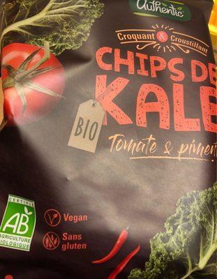 Chips de Kale - Produit