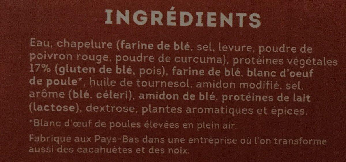 Nuggets vegetarien - Ingrédients