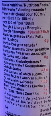 Bee Zen - Informations nutritionnelles - fr
