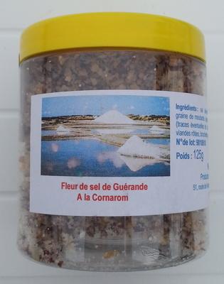 Préparation à base de Fleur de sel de Guérande au Cornarom - Product