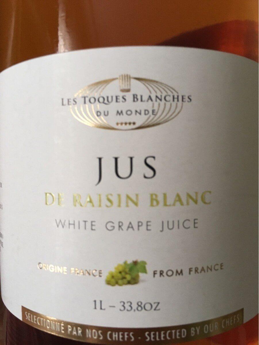 Jus de raisin blanc - Product - fr