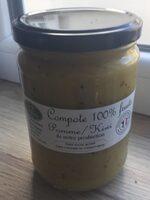 Compote 100% fruits Pomme / Kiwi - Produit