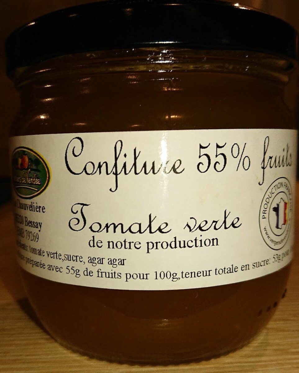 Confiture 55% fruits tomate verte - Product