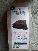Préparation Bio Sans Gluten Pour Fondant Au Chocolat - Product