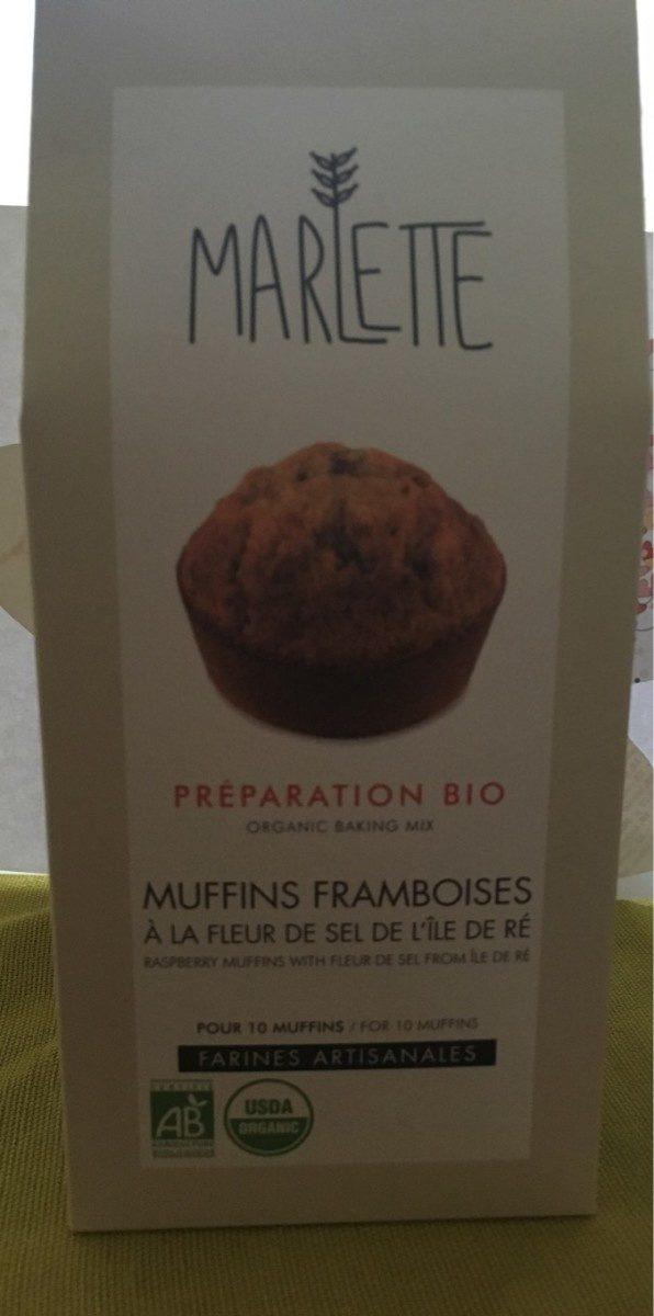 Muffins framboises a la fleur de sel de l'ile de ré - Produit - fr