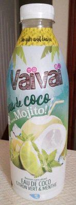 Eau de coco façon Mojito - Produit - fr