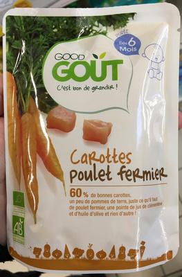Carottes Poulet Fermier - Produit
