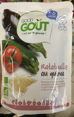 Ratatouille au quinoa-Good Gout-190g - Produit