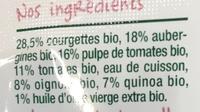 Ratatouille au quinoa-Good Gout-190g - Ingrédients