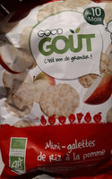 Mini-galettes de riz à la pomme - Product