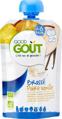 Brassé poire vanille 90g - Product - fr