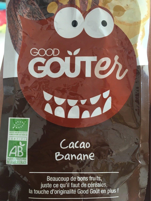 Cacao Banane-Good Gouter - Produit - fr