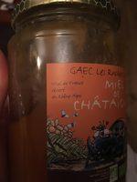 Miel de chataignier - Ingrediënten