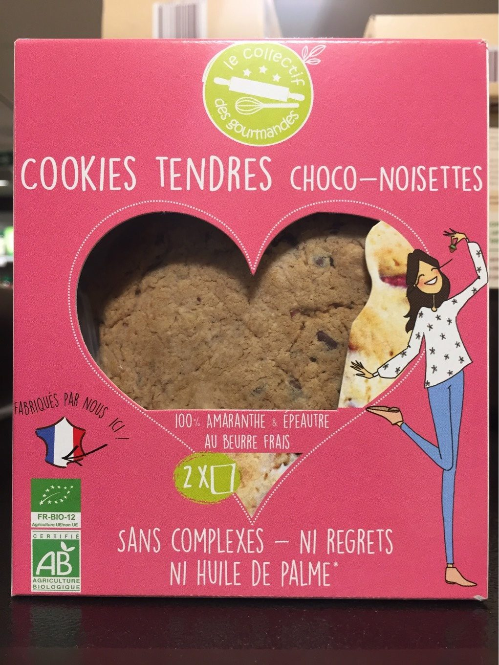 Cookies tendres - Product