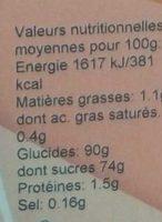 Préparation pour Flan Caramel - Nährwertangaben - fr