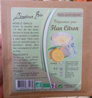 Préparation pour Flan Citron - Produkt - fr