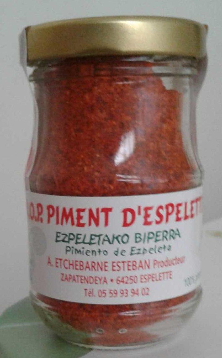 AOP piment d'Espelette - Producto