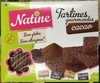 Tartines gourmandes Cacao - Product