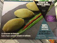 Écrasé de Patate Douce Blanche - Produit - fr