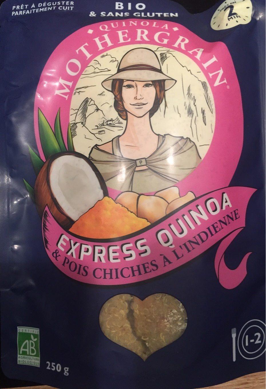 Express Quinoa & Pois chiches à l'indienne - Produit - fr