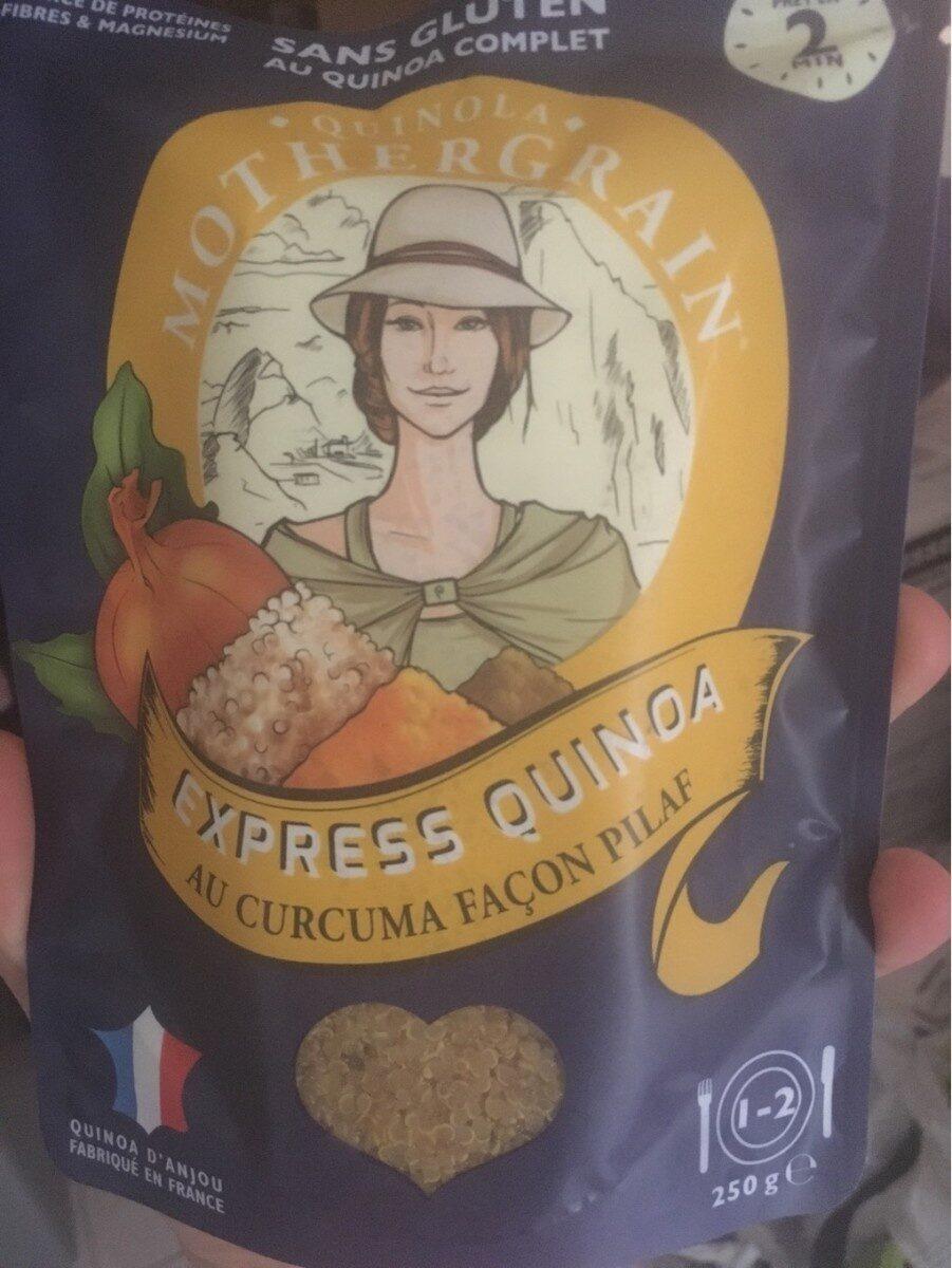 Express Quinoa au Curcuma - Produit - fr