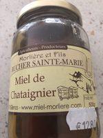 miel de chataigner - Produit - fr
