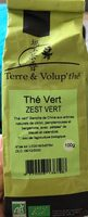 Thé Vert - zest vert - Produit - fr