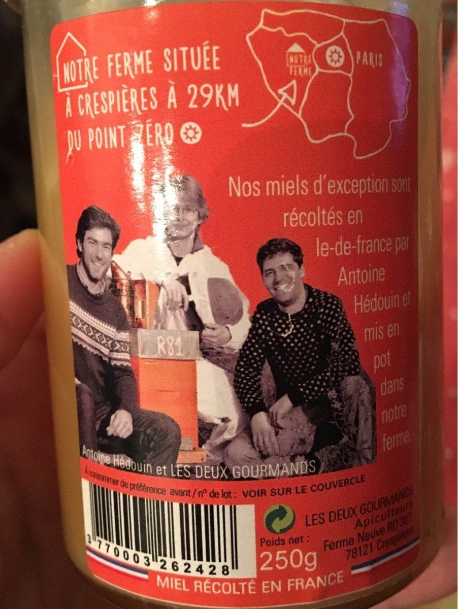 Miel de fleurs - Ingredienti - fr