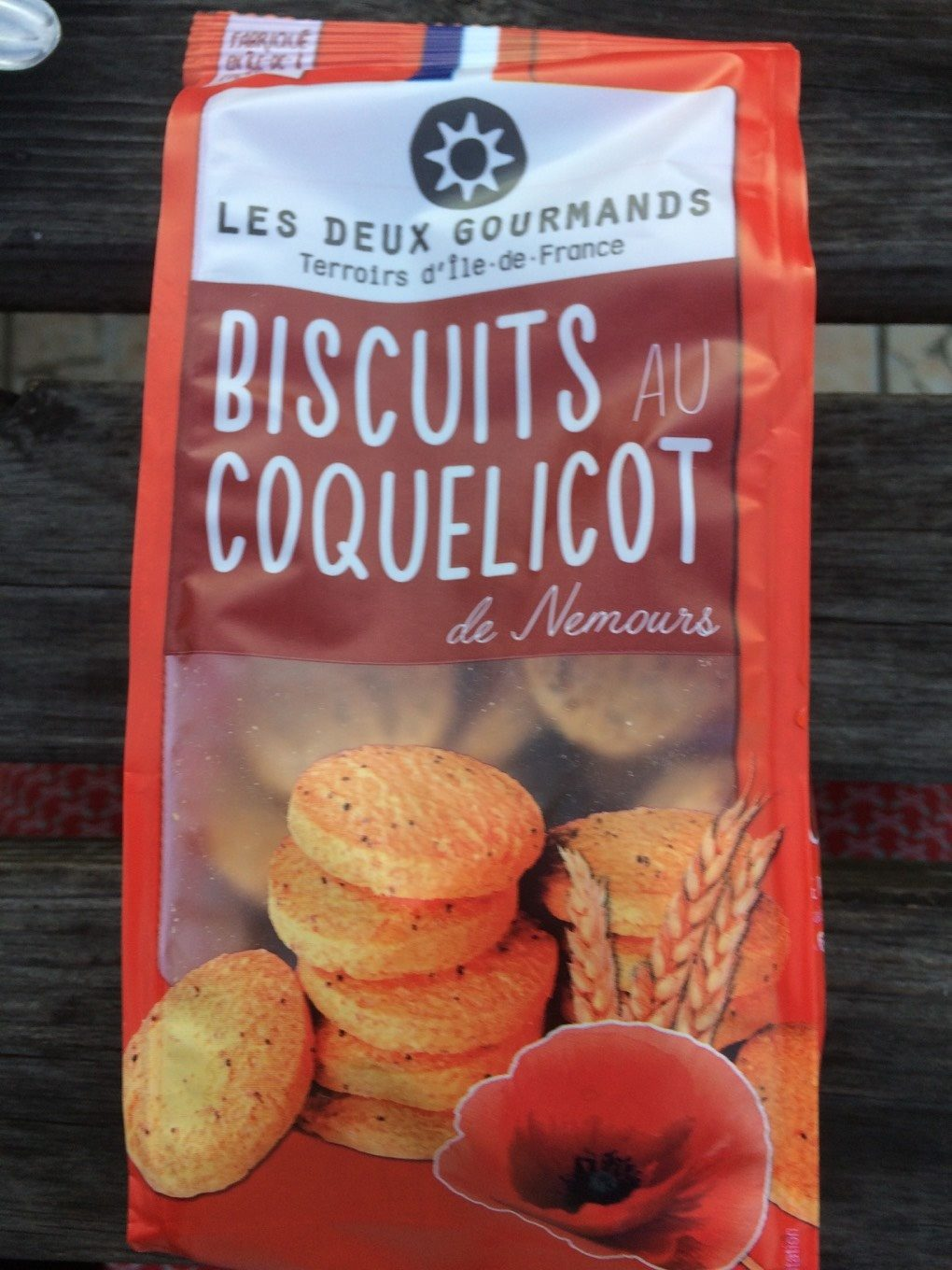 Biscuits au coquelicot - Product - fr