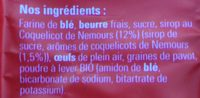 Biscuits au coquelicot - Ingredients - fr