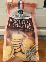 Biscuits a l'épeautre du Mantois - Product