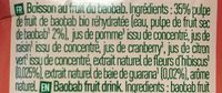 Superfruit Boost - Ingrédients - fr